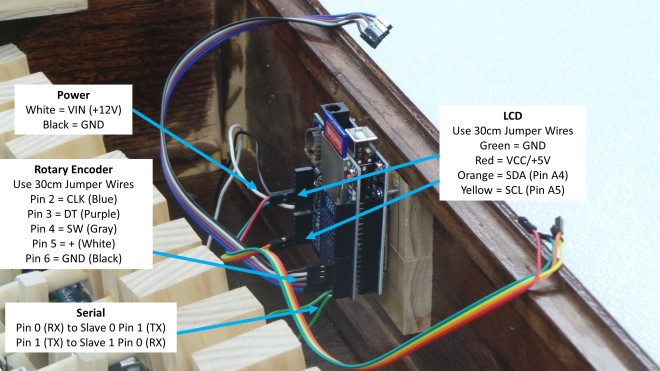 42 Wires to Data Logger Shield
