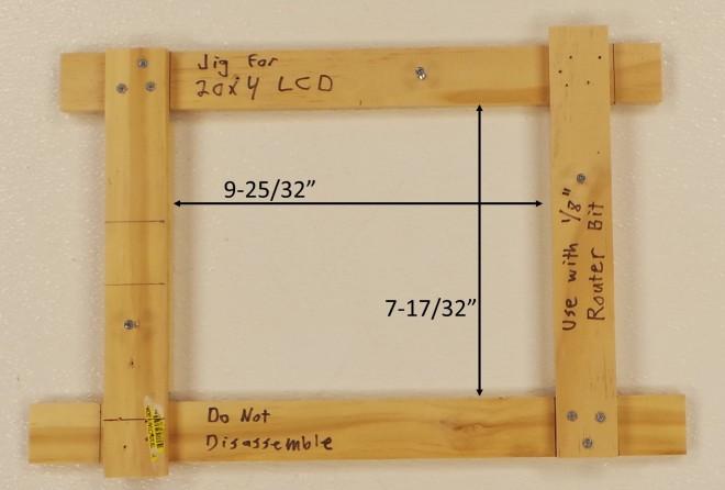 20x4 LCD Jig
